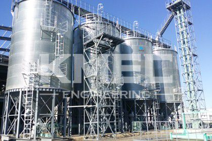 1000T silo for wheat storage