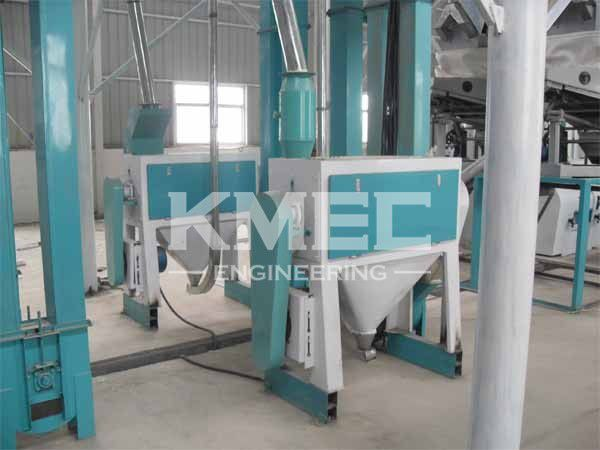 wheat bran finisher in flour mill plant