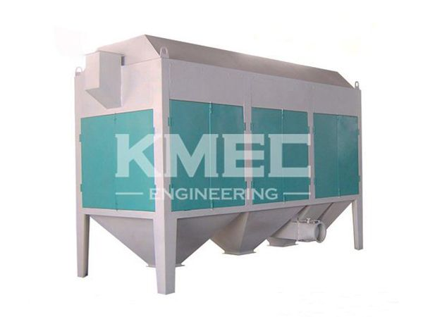 drum separator for wheat cleaning