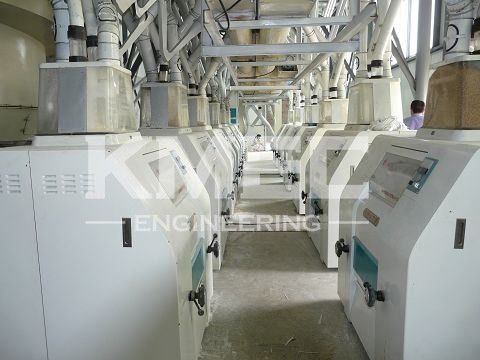 high precision flour mill