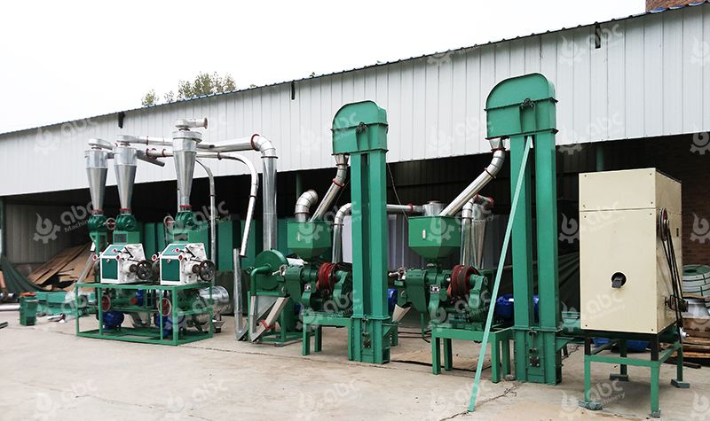 Maize Flour Mill Plant Manufacturer