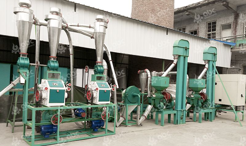 Mini Maize Flour Mill Plant