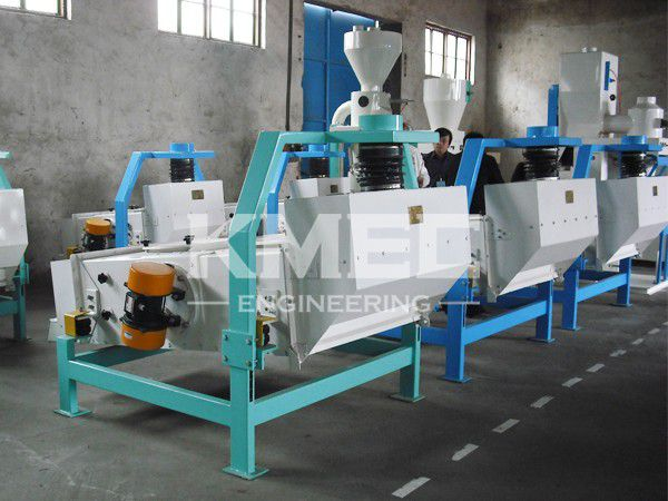 in vibrating separator factory