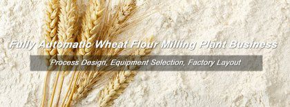 What's Machinery Required in Fully Automatic Wheat Flour Milling Machinery?