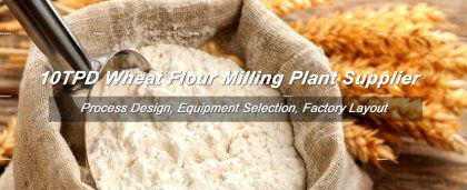 10TPD Wheat Flour Milling Plant for Sales
